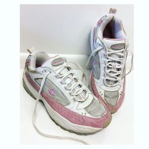 Champion | Vintage Chunky Sneakers White & Pink